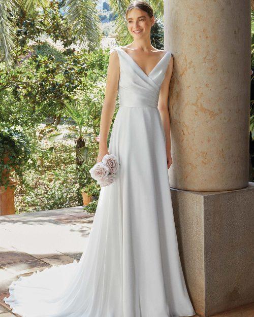Булчинска рокля от Микадо и шифон 44194