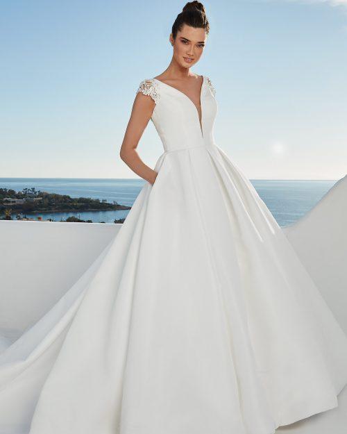Булчинска рокля принцеса, булчинска рокля от микадо